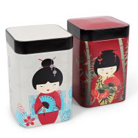 Teedosen Little Geisha 100g (2er Set)