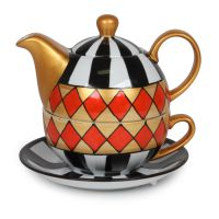 Tea-for-One Set Harlekin
